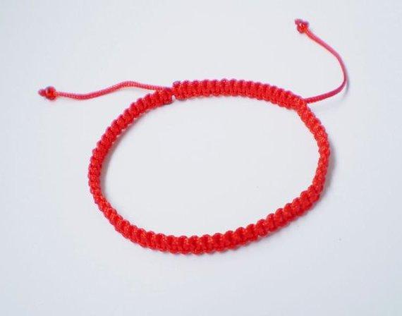 pulsera roja significado