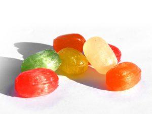 dulces dientes amarillos